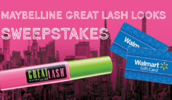 Maybelline Great Lash Looks Instant Win and Sweepstakes