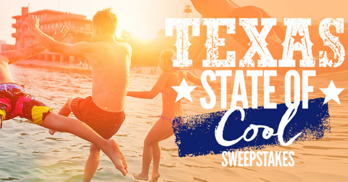 Ozarka Brand Texas State of Cool Sweepstakes and Instant Win Game