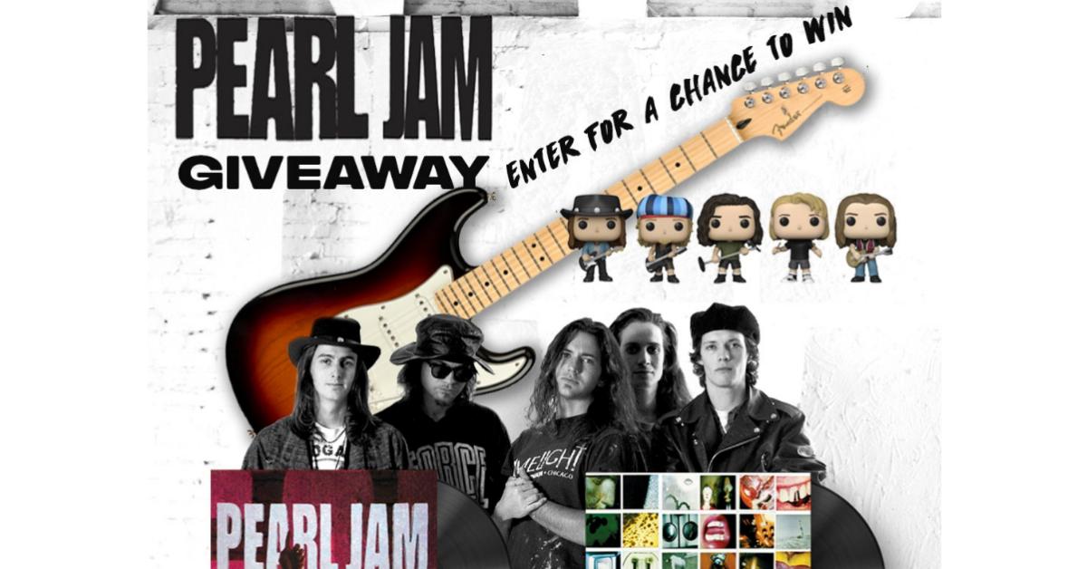 Pearl Jam Ten 30th Anniversary Giveaway
