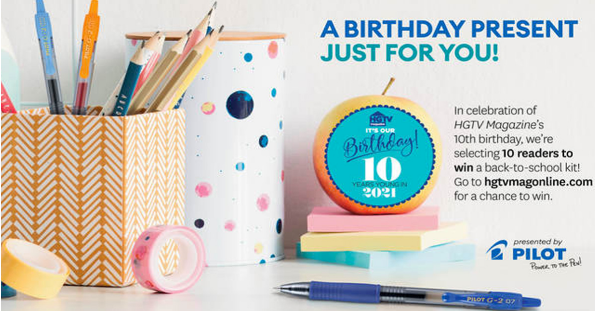 Pilot Back to School Sweepstakes