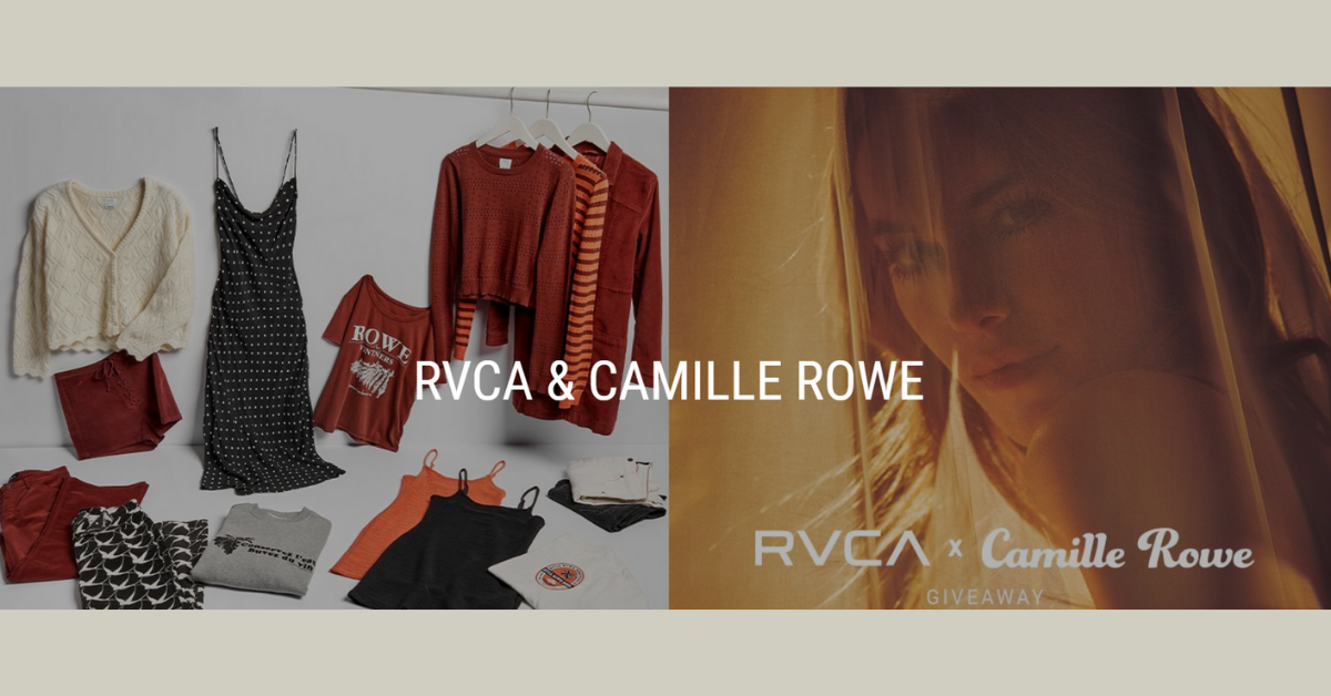 RVCA x Camille Rowe Sweepstakes
