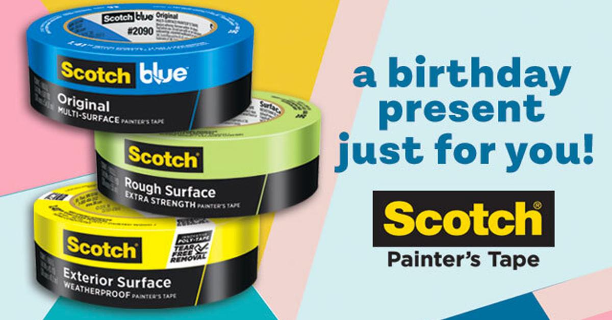 Scotch Painters Tape Celebration Sweepstakes