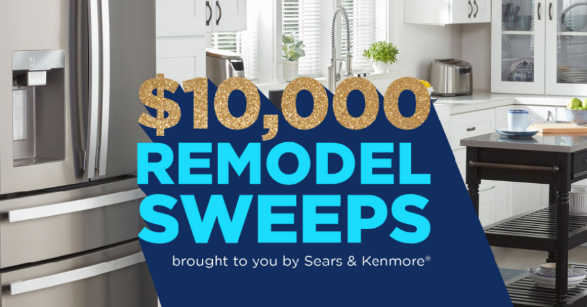 Sears $10K Remodel Sweepstakes and Instant Win Game