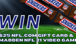 Snickers NFL Giveaway