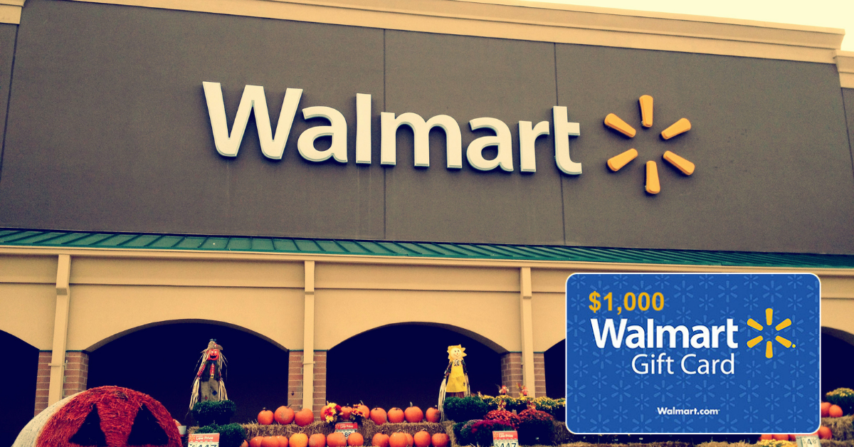 The 2021 Walmart August through October Sweepstakes