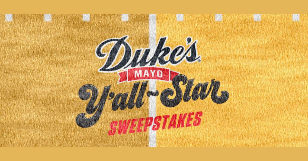 The Dukes Mayo Yall Star Sweepstakes