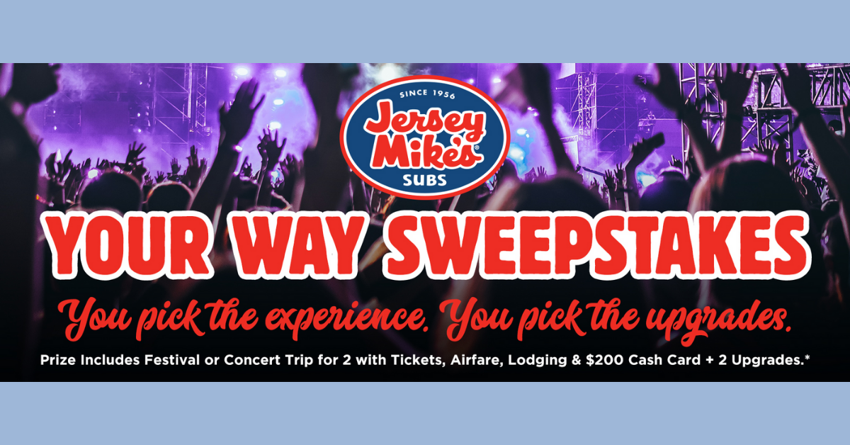 The Jersey Mikes Your Way Sweepstakes