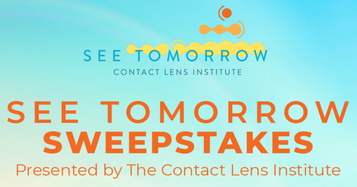 The See Tomorrow Sweepstakes