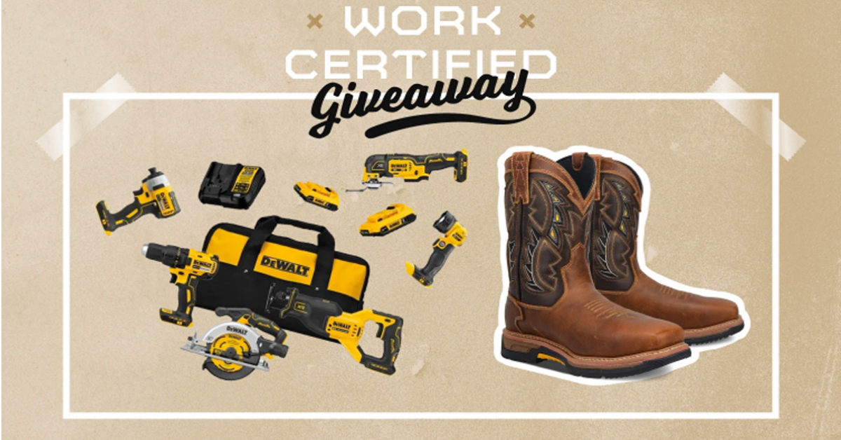 Work Certified Giveaway