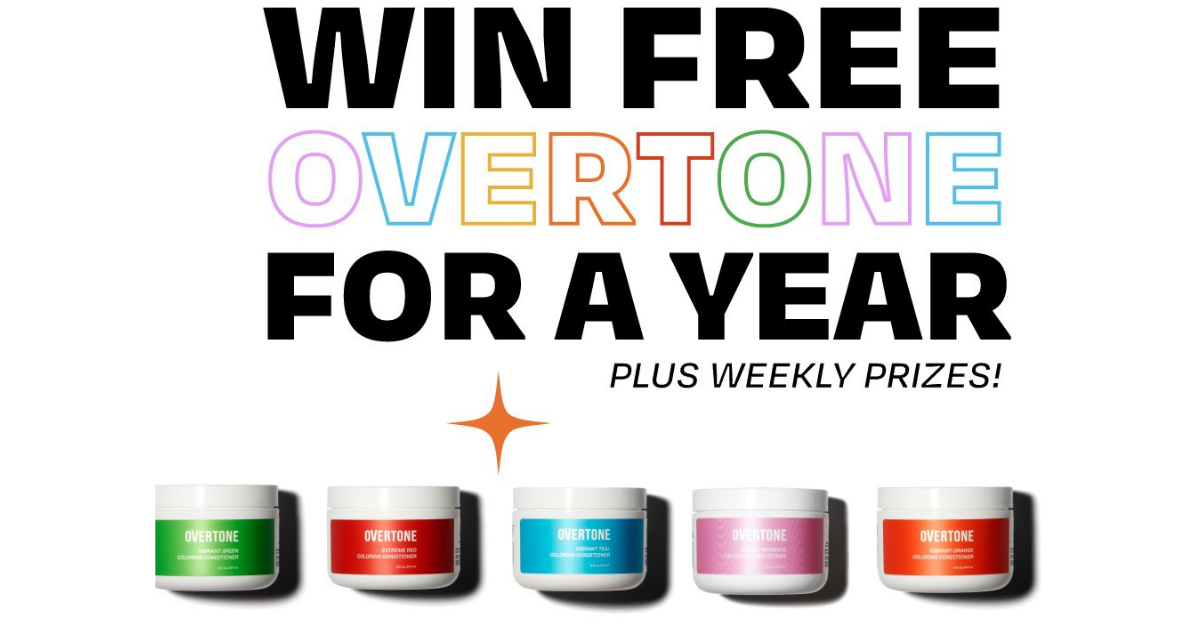 oVertone For A Year Giveaway