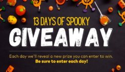 13 Days of Spooky Giveaway