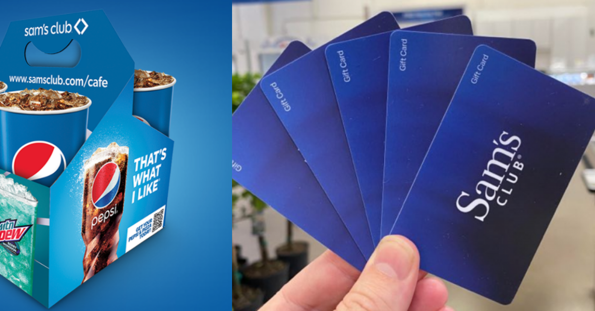 2021 Pepsi Sams Club 4 Pack Carrier Sweepstakes and Instant Win Game