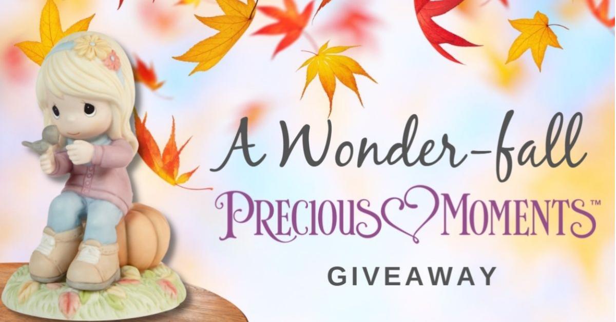 A Wonderfall Precious Moments Giveaway