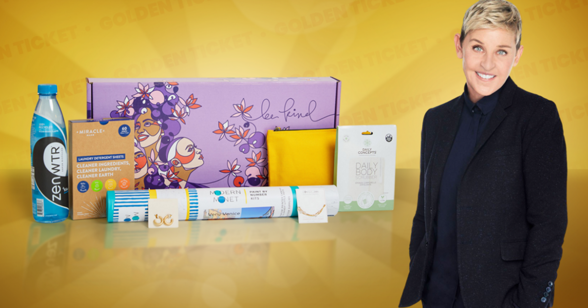 BE KIND by ellen Fall 2021 Golden Ticket Sweepstakes