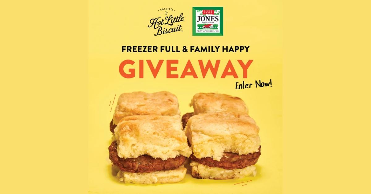 Callies Hot Little Biscuit x Jones Dairy Farm Giveaway