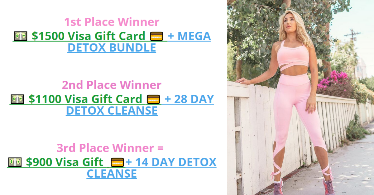 Celebrity Detox Tea Pinktober Giveaway