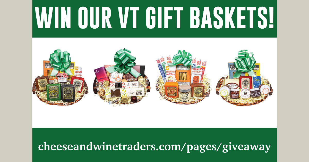 Cheese and Wine Traders Gift Basket Giveaway