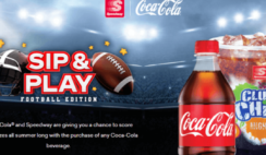 CocaCola and Speedway Sip and Play Fall Football Edition Instant Win Game