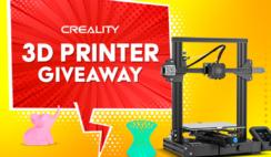 Creality 3D Printer Giveaway