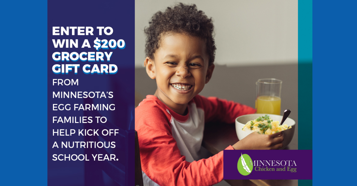 Minnesota Chicken $200 Grocery Gift Card Giveaway