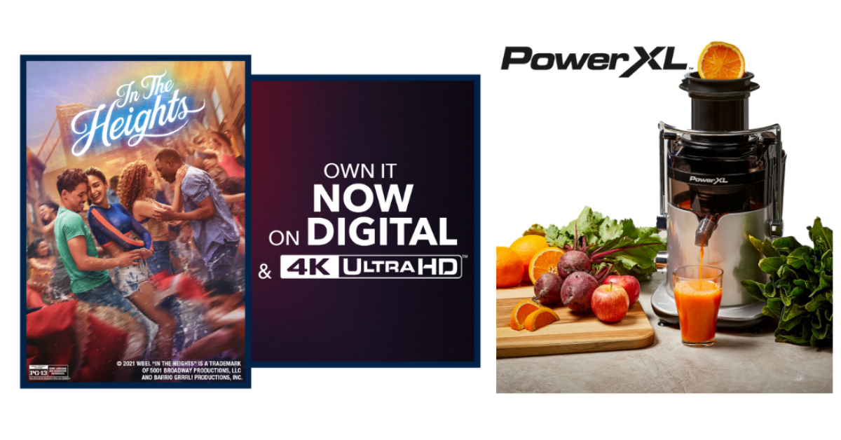 PowerXL x In The Heights Sweepstakes