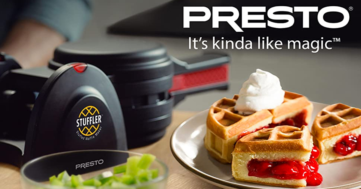 Presto Stuffler Stuffed Waffle Maker Giveaway