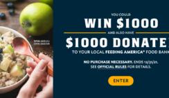 Quaker Feeding America Hots Instant Win Game