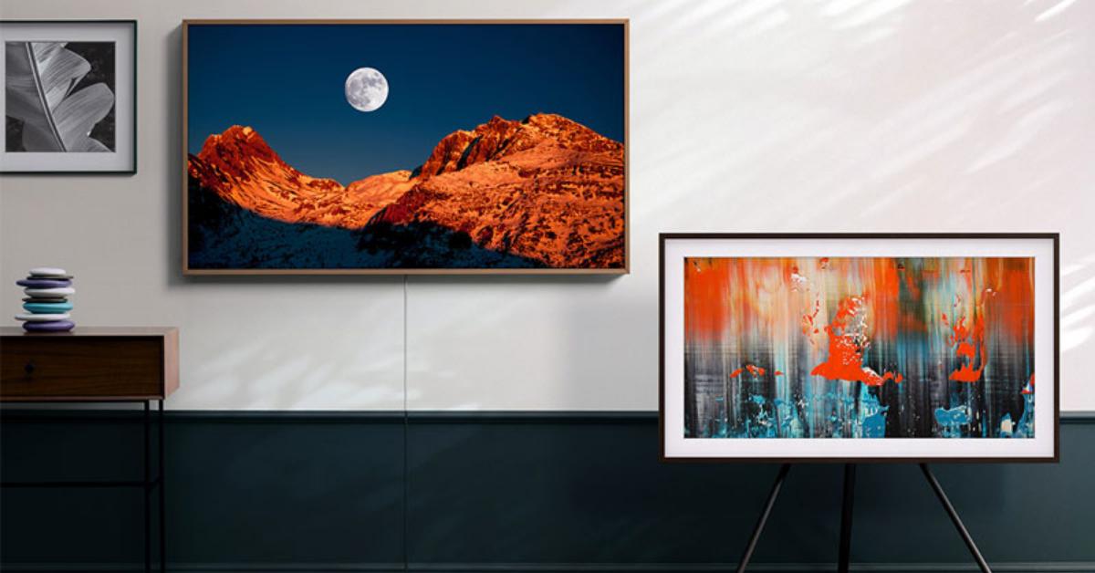 Samsung 50 Inch Frame QLED 4K Smart TV Giveaway