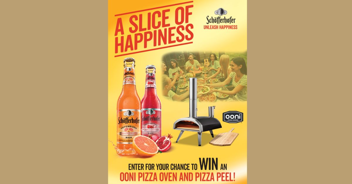Schofferhofer Slice of Happiness Sweepstakes