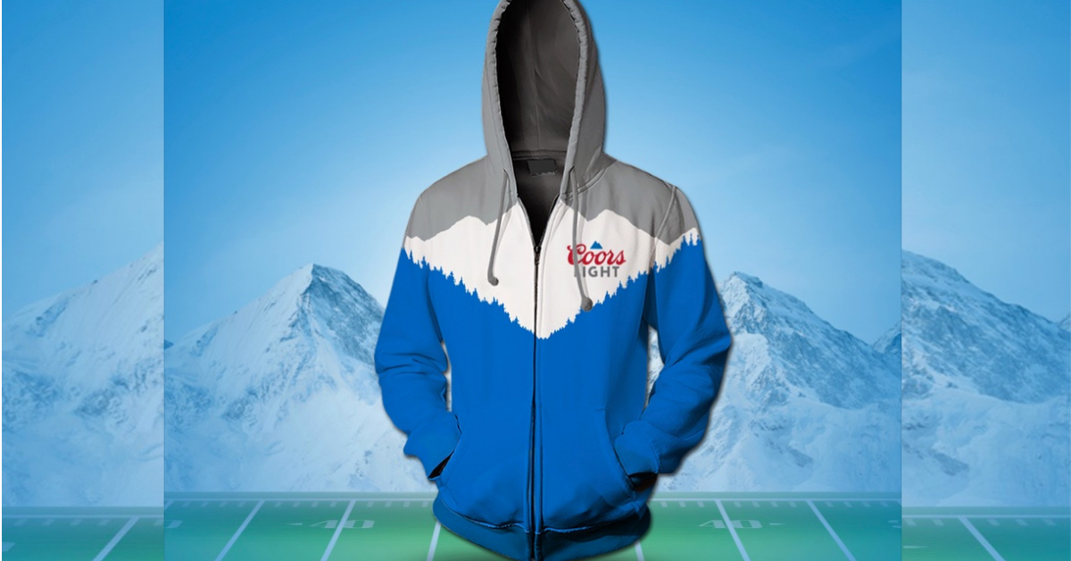 The Coors Light Weighted Hoodie Sweepstakes
