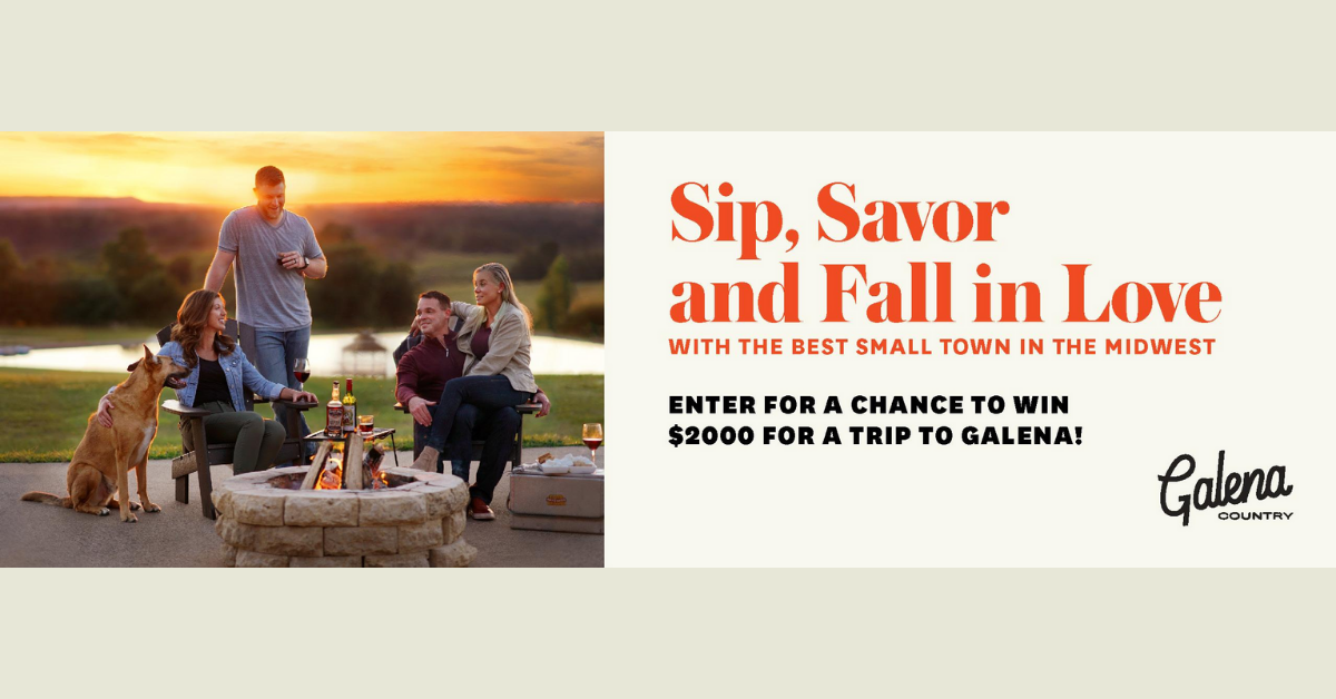 The Getaway In Galena Sweepstakes