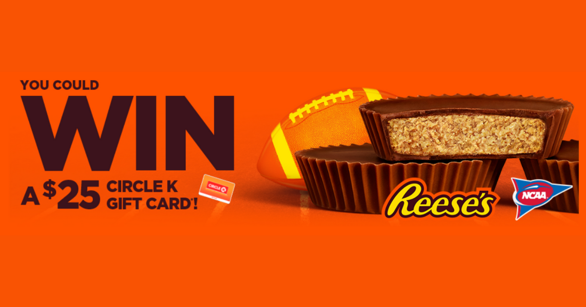 The REESES Football at Circle K Midwest Sweepstakes