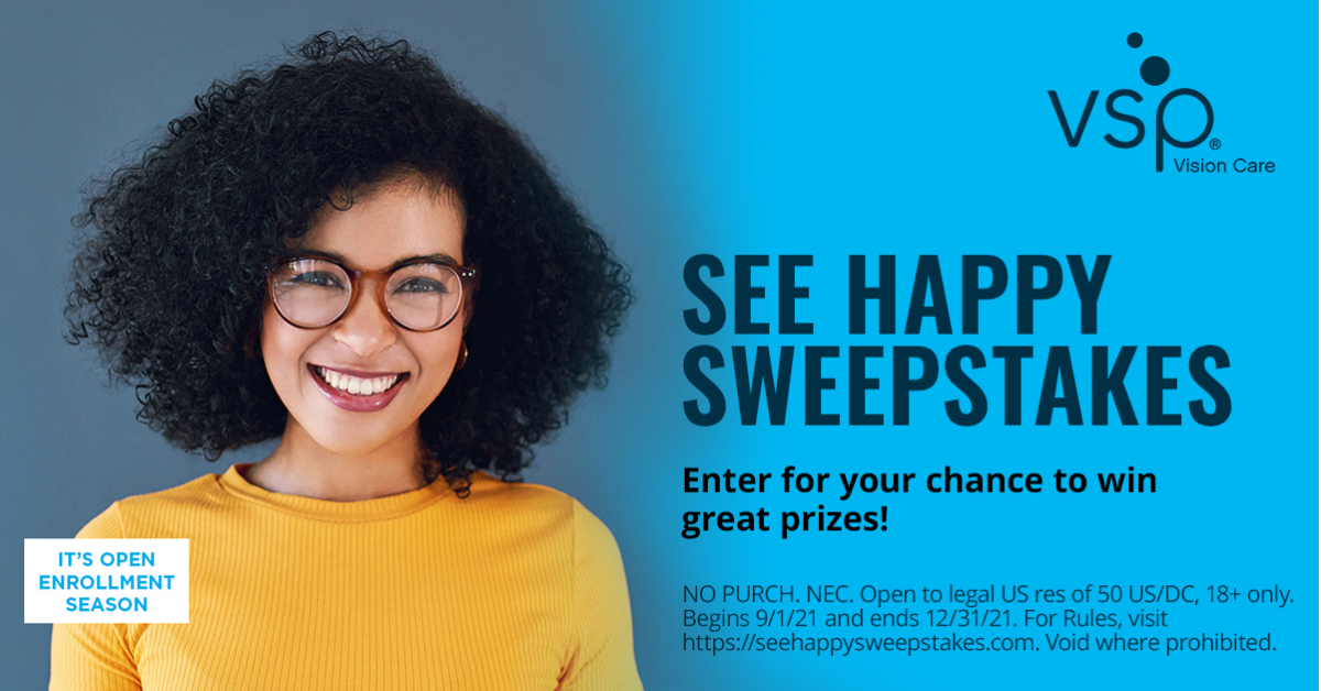 The See Happy Sweepstakes
