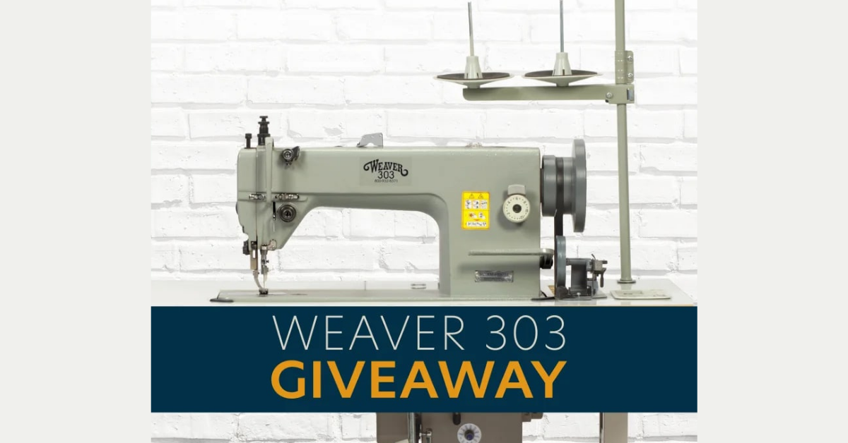 Weaver Sewing Machine Giveaway