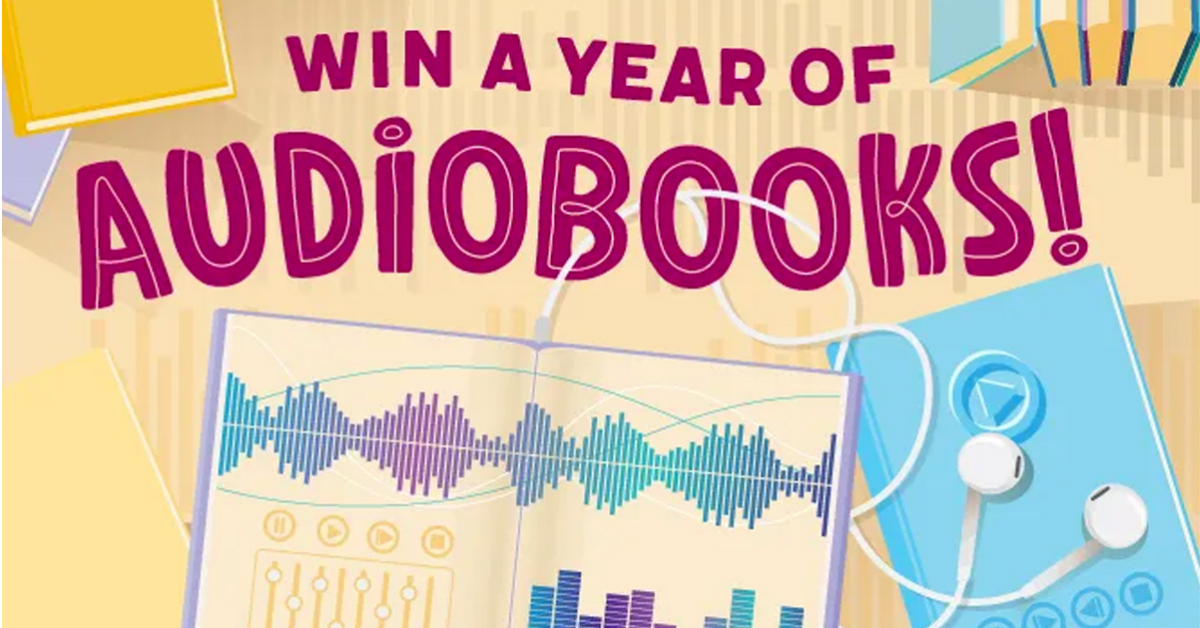 Year of Audiobooks Giveaway