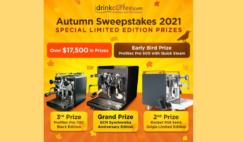 iDrinkCoffee Autumn Sweepstakes