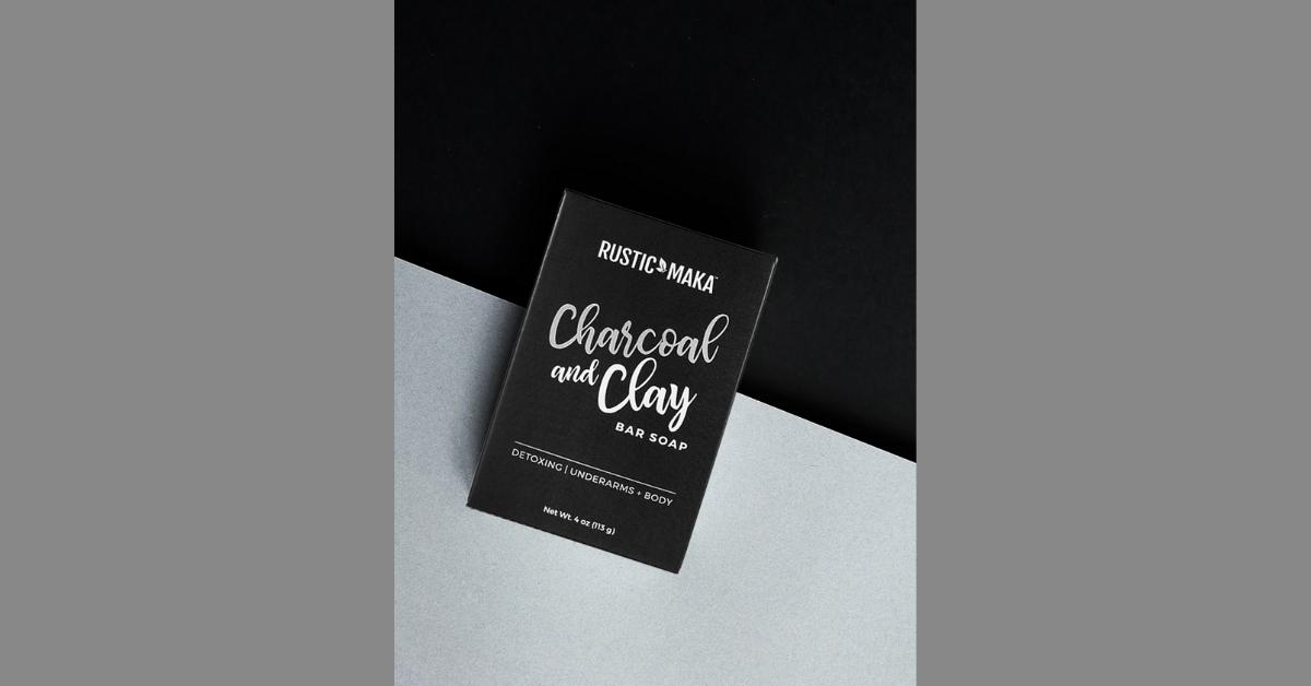 FREE Rustic MAKA Charcoal and Clay Bar Soap