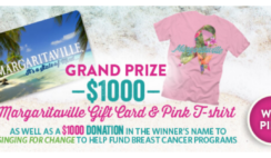 Margaritavilles 2021 Pink October Giveaway