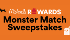 Michaels Rewards Monster Match Sweepstakes and Instant Win Game