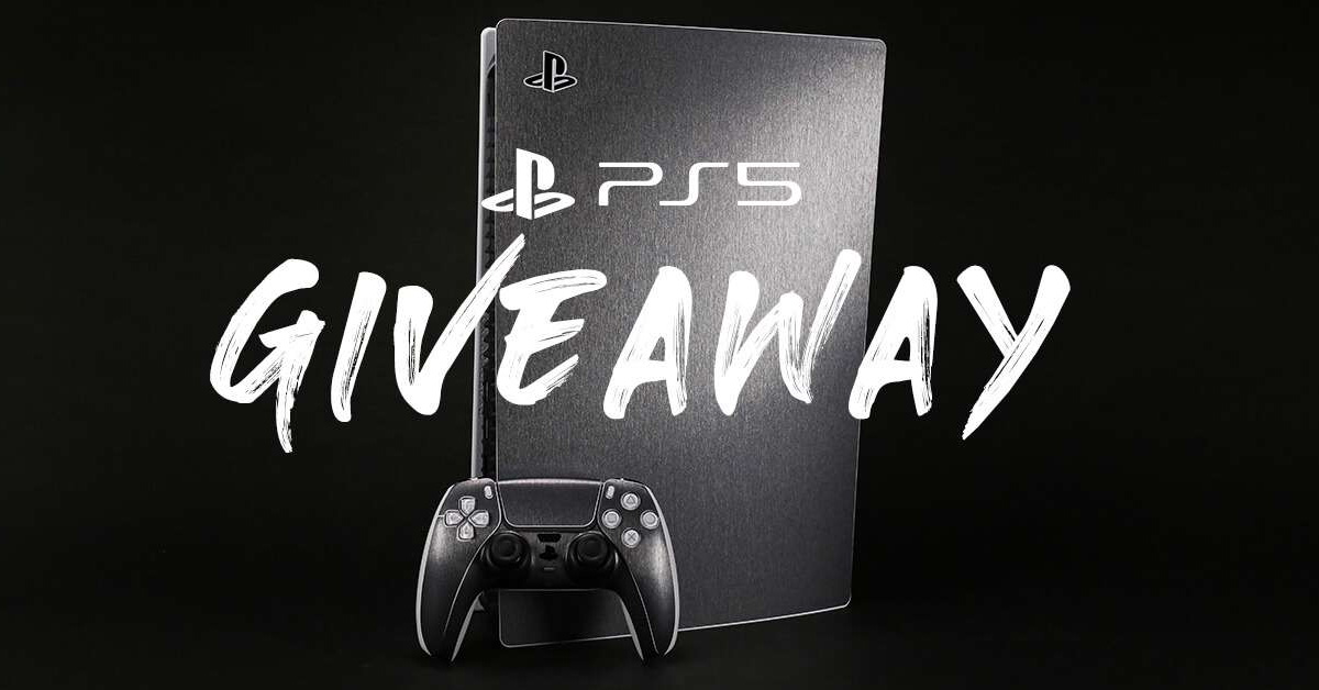 Skinit PS5 Digital Edition Giveaway