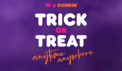 The Dunkin' Halloween Instant Win Game